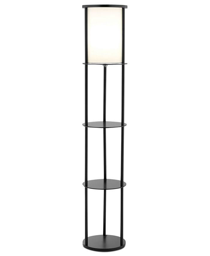 Adesso - Stewart Shelf Floor Lamp