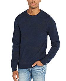 Buffalo David Bitton Men's Camo Jacquard Sweater