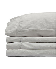 Jennifer Adams Relaxed Cotton Sateen California King Sheet Set