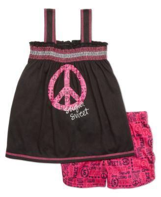ملابس خطيره ،ملابس بيتي للبنوتات بيجامات صيفي قطن للبنات الصغار دلع ورقة بيجامات لولو 2018