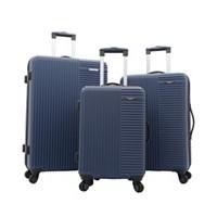 Deals on Travelers Club Basette 3-Pc. Hardside Luggage Set