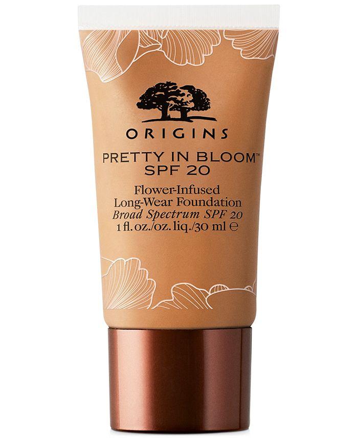 Origins - Pretty In Bloom Flower-Infused Long-Wear Foundation SPF 20, 1-oz.