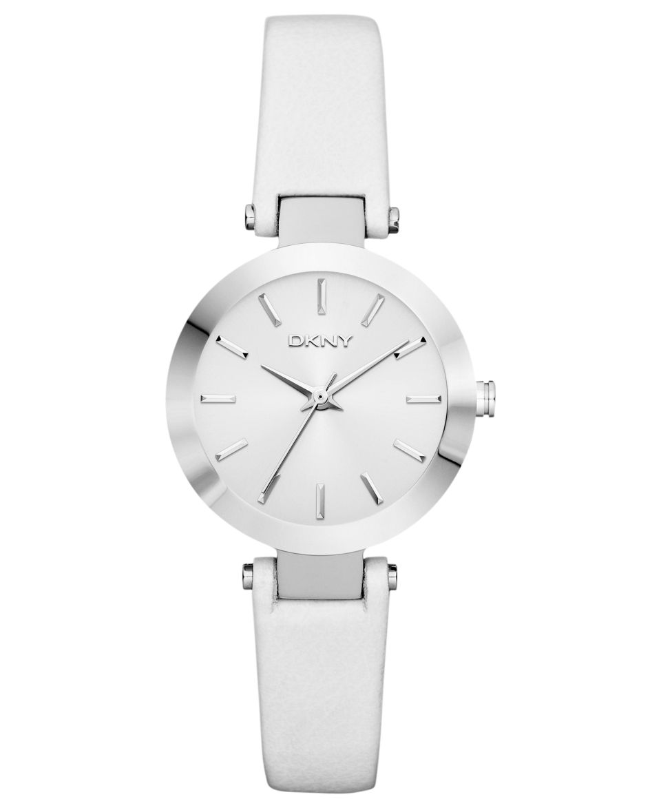 Kenneth Cole New York Watch, Womens White Leather Strap KC2609   Watches   Jewelry & Watches