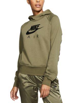 Nike Women's Air Fleece Logo Hoodie