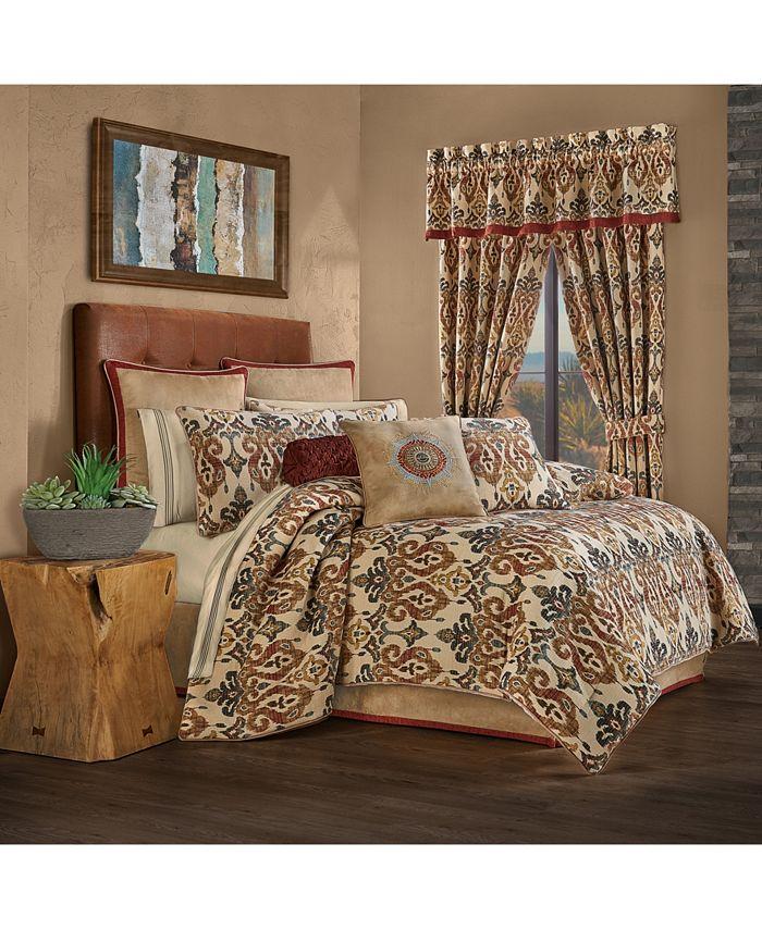 J Queen New York - Jqueen Tucson King 4 Piece Comforter Set