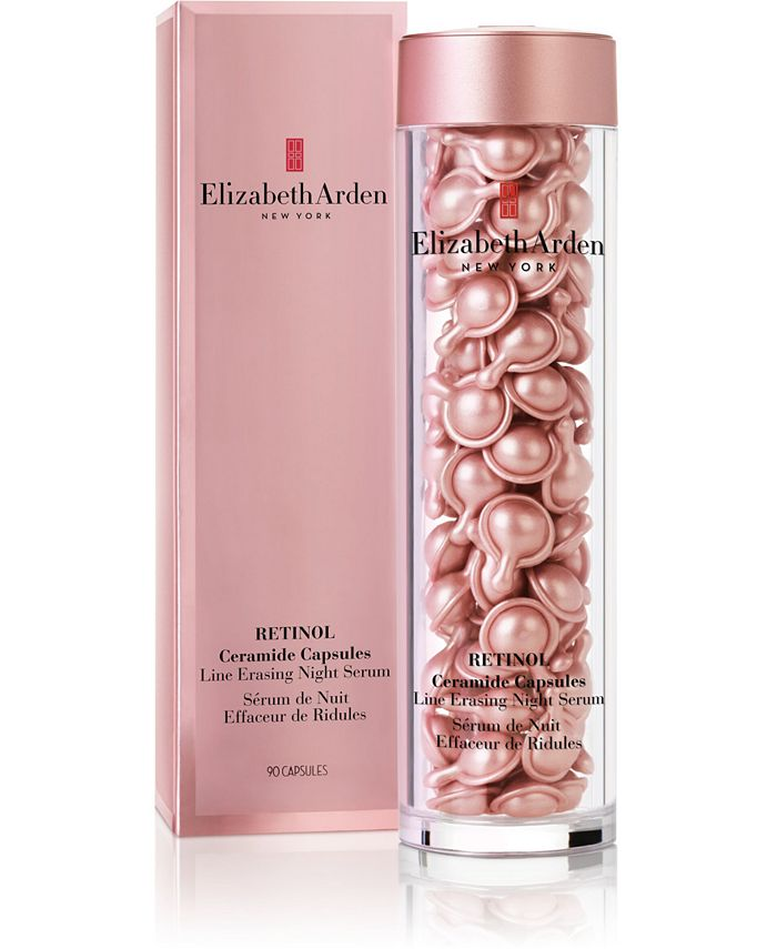 Elizabeth Arden Retinol Ceramide Capsules Line Erasing Night Serum 90 Ct Reviews Skin Care Beauty Macy S