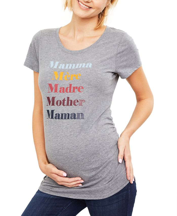 Motherhood Maternity - Maternity Graphic T-Shirt