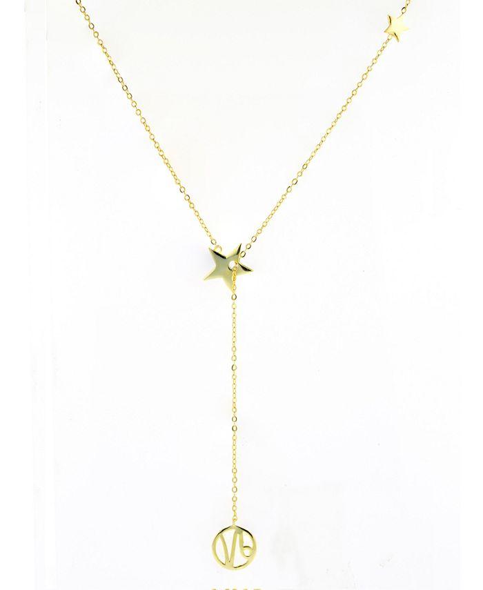 ADORNIA - Taurus Zodiac Lariat Necklace