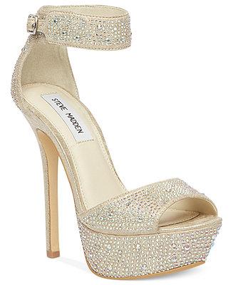 Steve Madden Carriie Platform Sandals Shoes Macy S