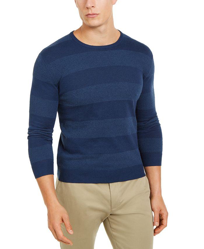 Tasso Elba - Men's Rugby Boucle Sweater