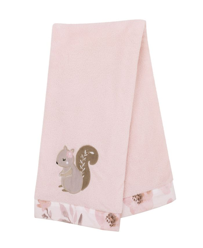 NoJo - Countryside Floral Appliqued Baby Blanket