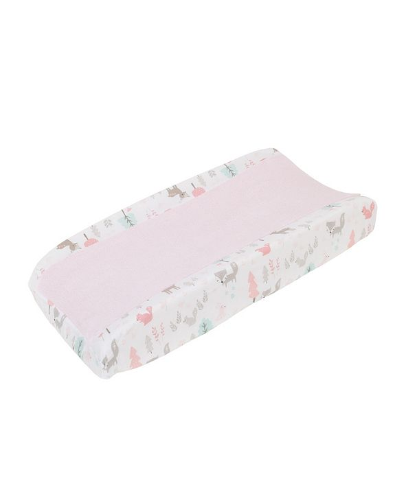NoJo Sweet Forest Friends Changing Pad Cover
