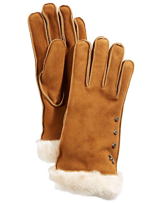 Koolaburra By UGG - Studded Gloves with Faux Fur Cuff