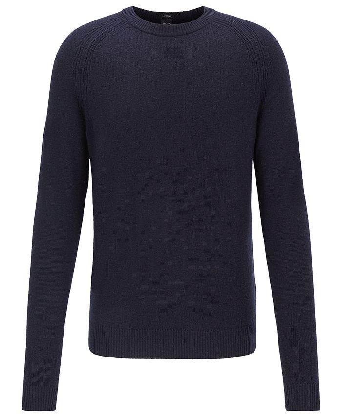 Hugo Boss - Men's Benilo Regular-Fit Sweater