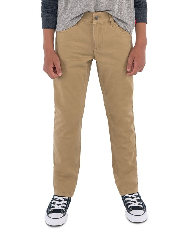 Levi's 511™  Slim Fit Sueded Pants, Toddler Boys