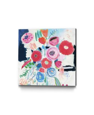 "20"" x 20"" Fresh Florals II Museum Mounted Canvas Print"