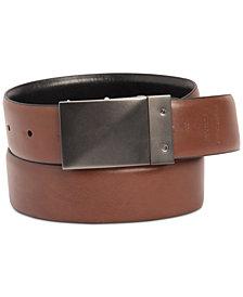 Kenneth Cole Reaction Men's Stretch Reversible Plaque Belt