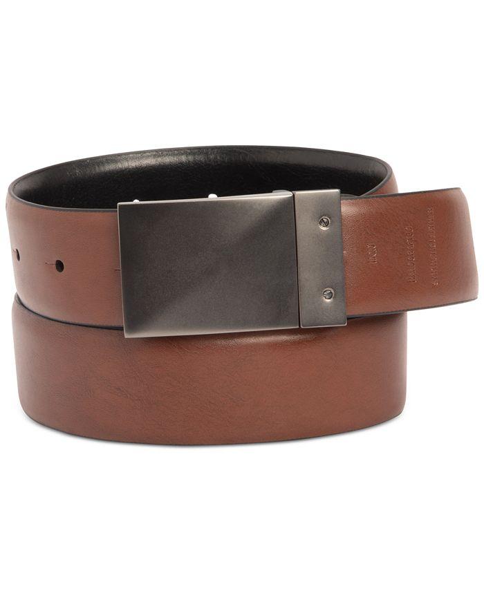 Kenneth Cole Reaction - Men's Stretch Reversible Plaque Belt