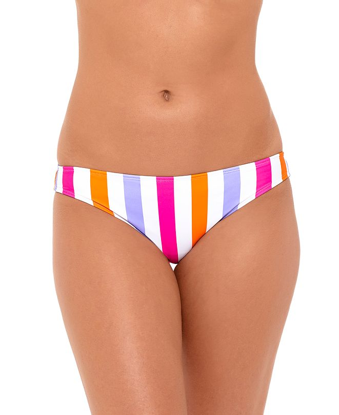 Salt + Cove Juniors' Striped Bikini Bottoms, Created for Macy's