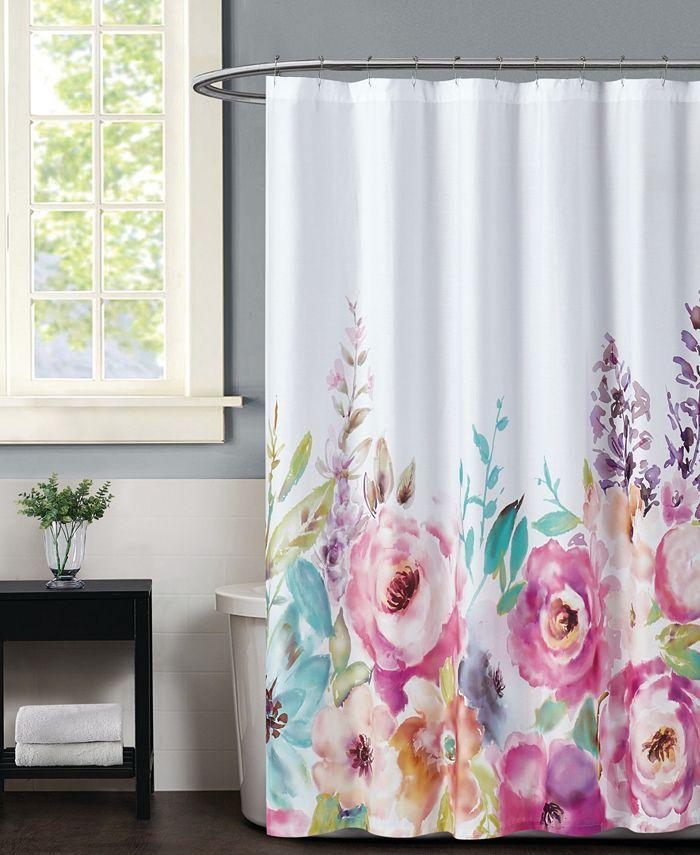 Christian Siriano New York - Spring Flowers Shower Curtain