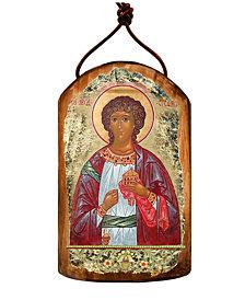 G.DeBrekht Saint Stephen Wooden Greek Christian Orthodox Icon Ornament