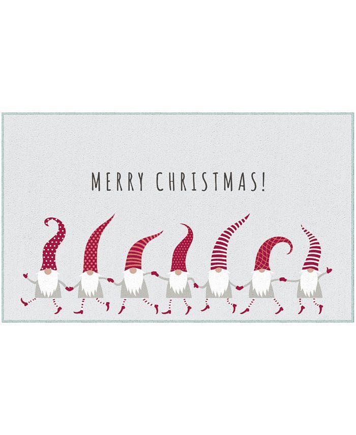 "Mohawk - Christmas Elves Accent Rug, 24"" x 40"""
