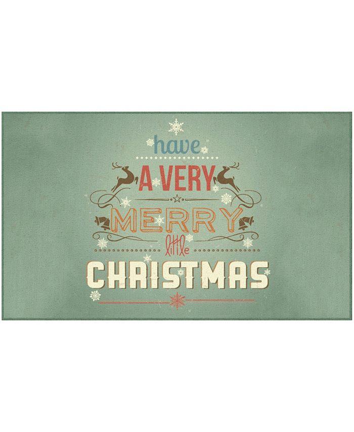 "Mohawk - Merry Little Christmas Accent Rug, 30"" x 50"""