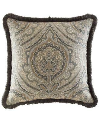 "Croscill Hannah 18"" Square Decorative Pillow"