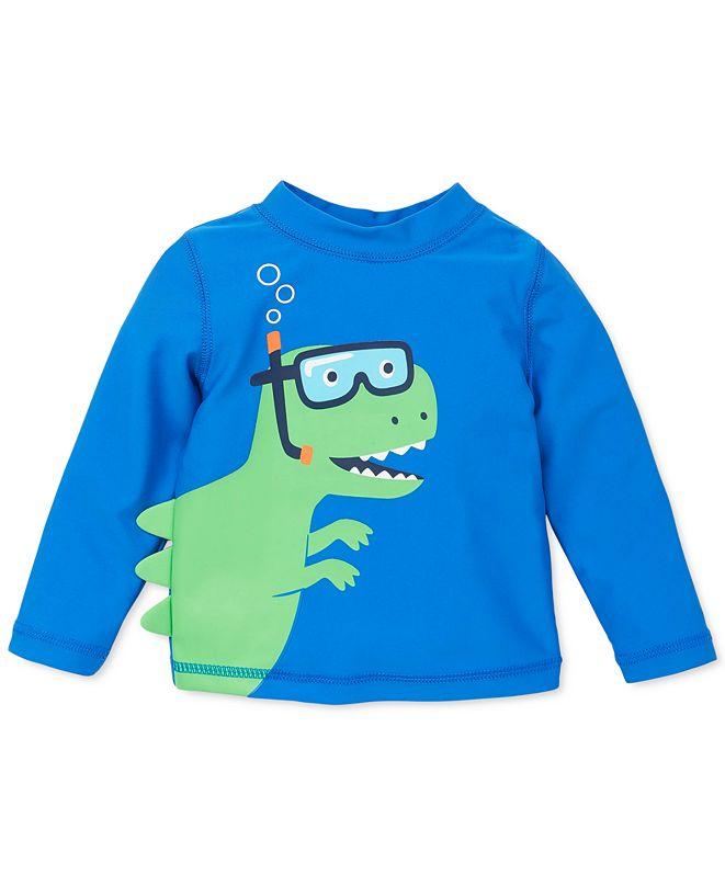 Little Me Baby Boys Dinosaur Rash Guard