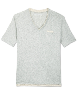 Sean John Shirt Capsule VNeck Graphic TShirt