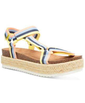 Madden Girl Cambridge Flatform Sandals