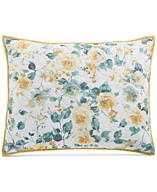Martha Stewart Collection Garden Floral King Sham, Created for Macy's
