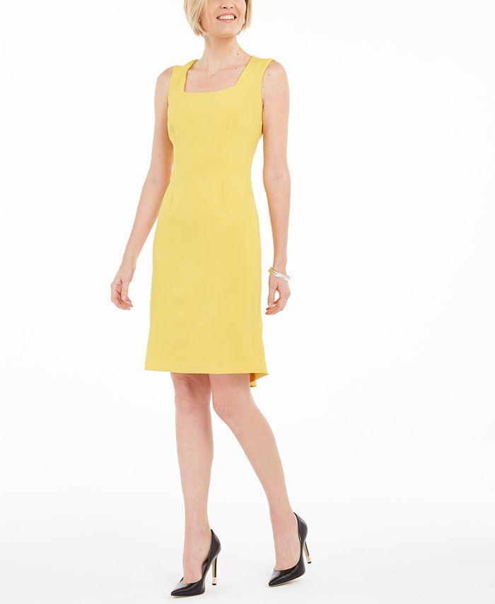 Kasper - Flounce Sheath Dress