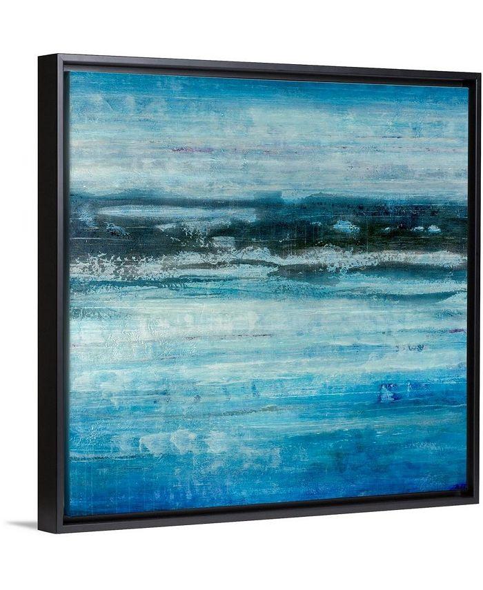 "GreatBigCanvas - 24 in. x 24 in. ""Aquatic Life"" by  Joshua Schicker Canvas Wall Art"