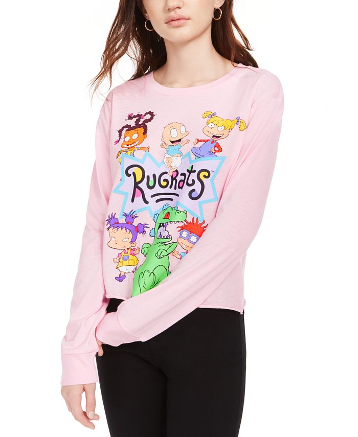 Nickelodeon - Juniors' Rugrats Graphic Print Long-Sleeve T-Shirt