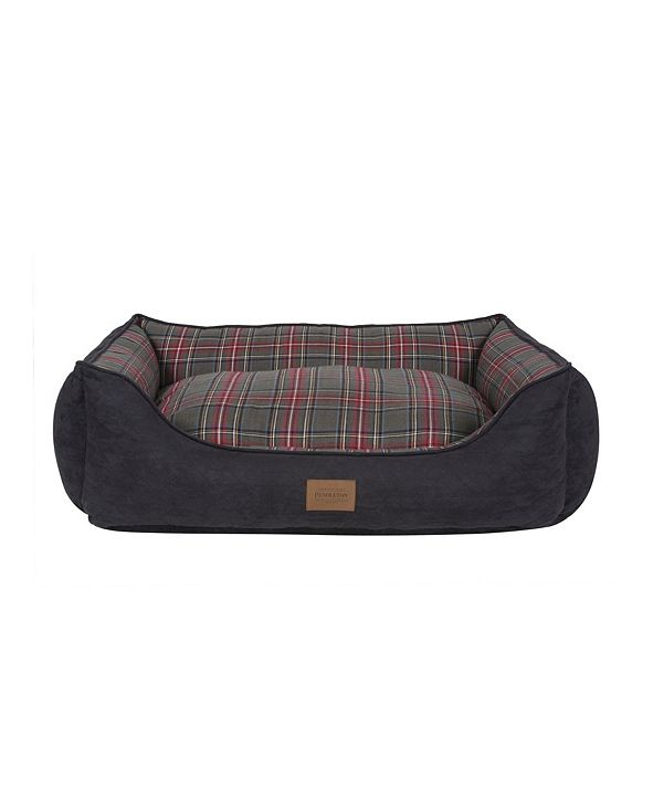 Pendleton Plaid Kuddler Bed