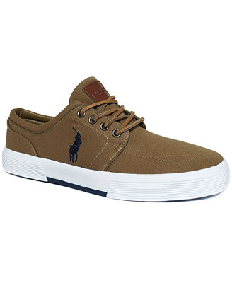 polo ralph faxon low sneakers shoes macy s