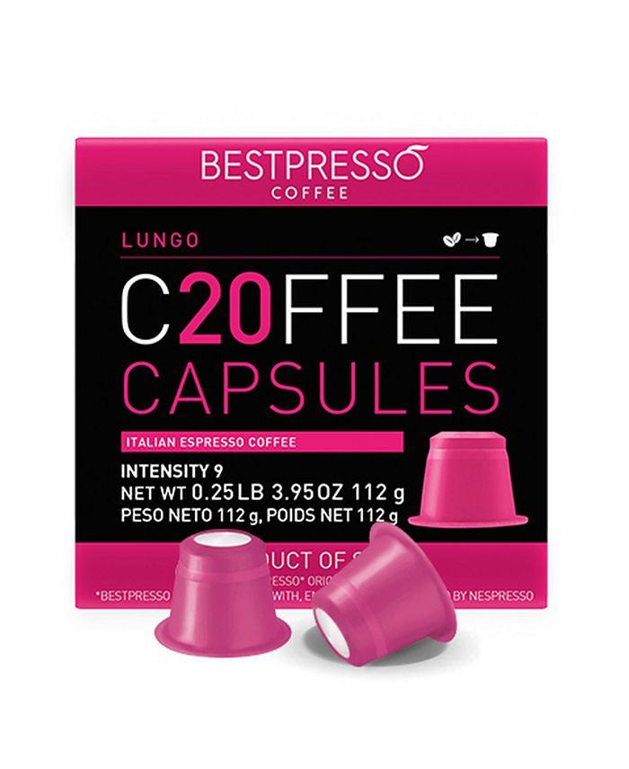 Bestpresso - Lungo Flavor 120 Capsules per Pack