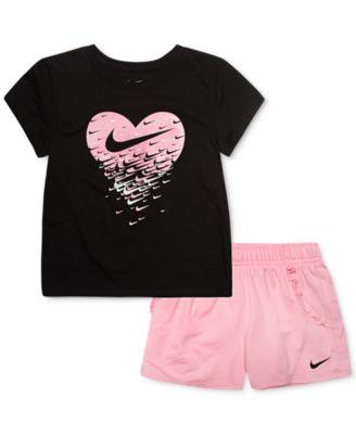 Pc. T-Shirt \u0026 French Terry Shorts Set