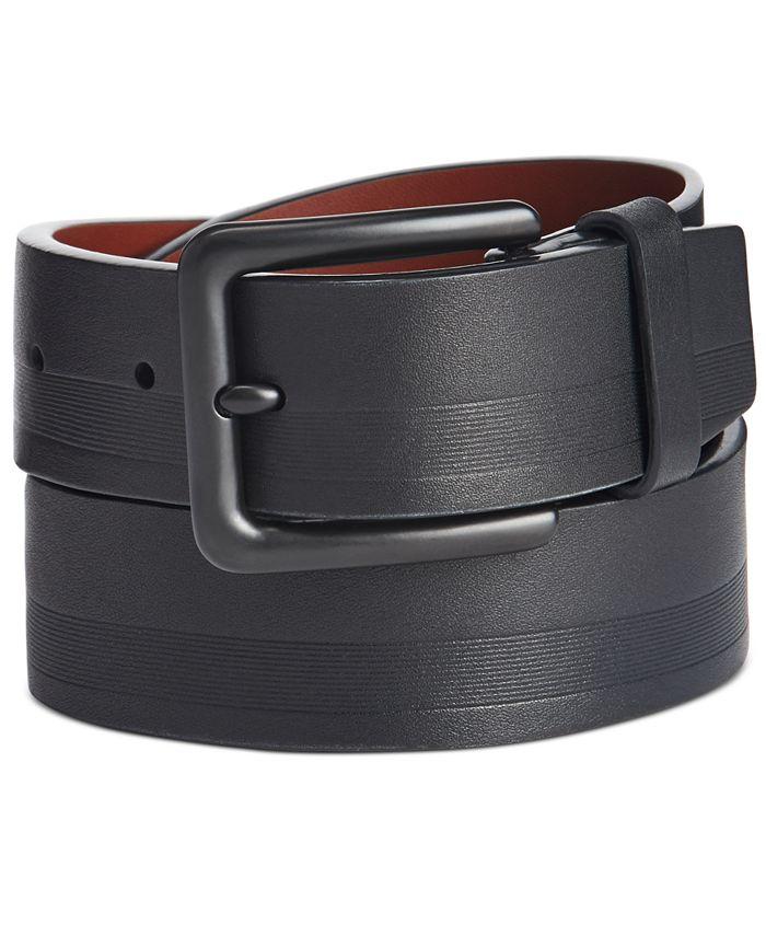 Original Penguin - Men's Embossed Casual Belt