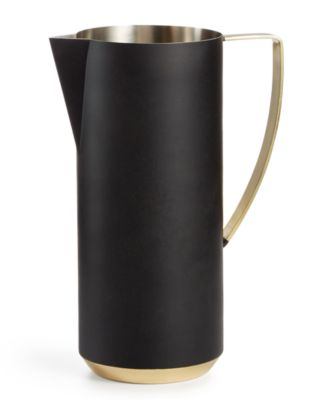 Black & Gold Pitcher, Created for Macy's