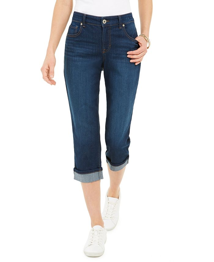 Style & Co - Cuffed French Birch Wash Jeans