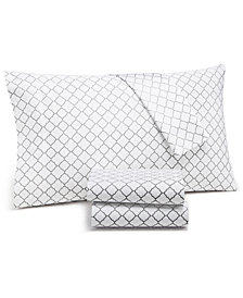 Charter Club Damask Designs Arabesque Geo Extra Deep Sheet Sets,  550-Thread Count Supima Cotton Created for Macy's