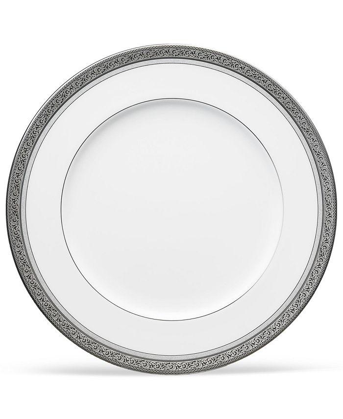 "Noritake - Summit Platinum Dinner Plate, 10-3/4"""