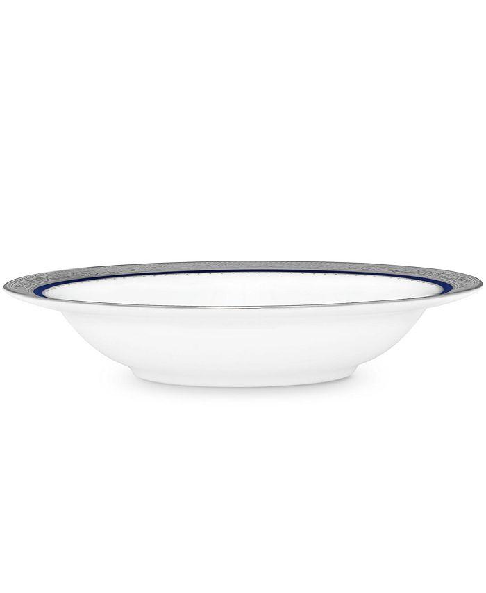 "Noritake - Odessa Cobalt Platinum Fruit Bowl, 6"", 5 Oz."