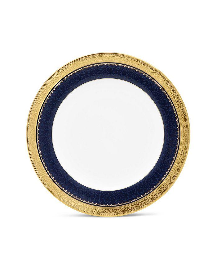 """Noritake - Odessa Cobalt Gold Bread & Butter/Appetizer Plate, 6.5"""""""