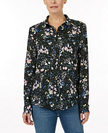 Laundry by Shelli Segal Printed blouse