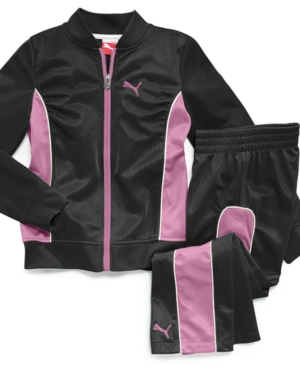 Puma Kids Set Little Girls Track Suit