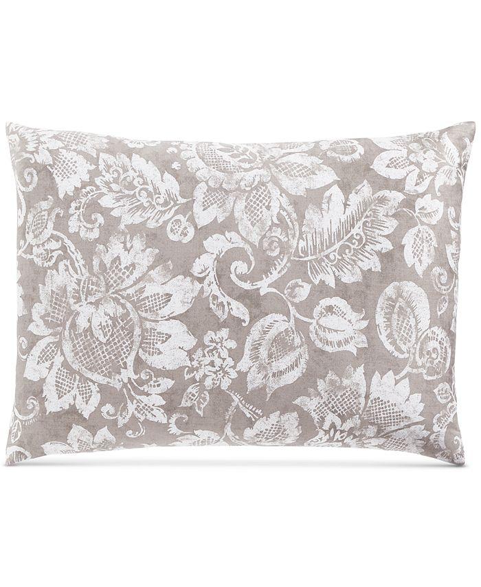 Charter Club - Damask Designs Jacobean Cotton 300-Thread Count Standard Sham