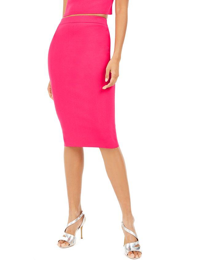 Bar III - Bodycon Sweater Skirt